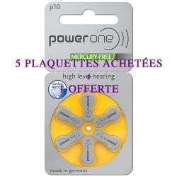 Pile power one 10 5 plaquettes achetées 1 plaquette offerte